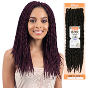 ModelModel Synthetic Hair Crochet Braids Glance Box Braids Large 14