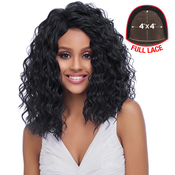 Harlem125 Synthetic Hair Lace Front Wig 4X4 Swiss Silk Base FLS10