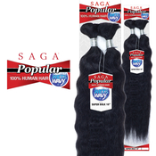 Saga Human Hair Braids WetAMP;Wavy Popular Super Bulk 18