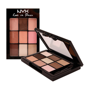 NYX Love in Paris 9 Color Shadow Palette