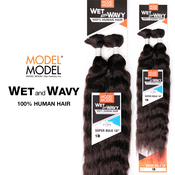 ModelModel Human Hair Braids Wet And Wavy Super Bulk 18
