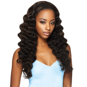 OUTRE Synthetic Hair Half Wig Quick Weave Ashani