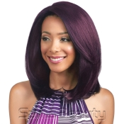 Bobbi Boss Human Hair Blend Lace Front Wig MBLF100 4X4 Swiss Lace Ariano
