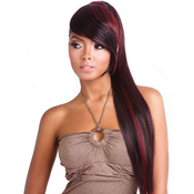 ISIS Synthetic Hair Ponytail YellowTail Bang Tail YTBT01 Yaky Straight 28