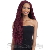 FreeTress Synthetic Hair Crochet Braids Zoey Braid Wavy 26