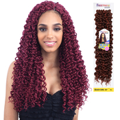 FreeTress Synthetic Hair Crochet Braids Beach Curl 18