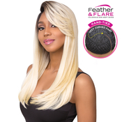 Sensationnel Synthetic Lace Front Wig Empress Edge Feather AMP; Flare Natural Curved Part Nicole