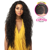 Sensationnel Synthetic Lace Front Wig Empress Edge Natural Curved Part Tuscany