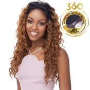 Its A Wig Human Hair Blend 360 All Round Deep Lace Wig 360 Lace Emotion