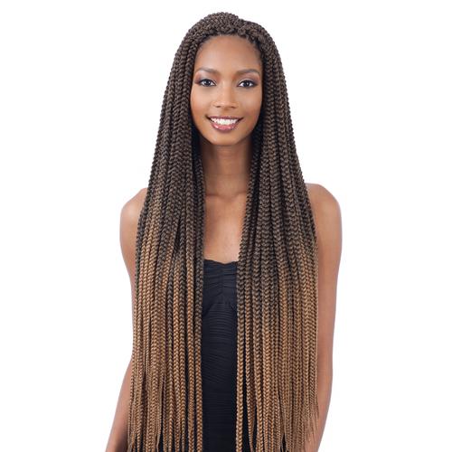 Freetress Synthetic Hair Crochet Braids 2x Large Box Braid 30