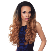 Outre Synthetic Hair Half Wig Quick Weave Stunna