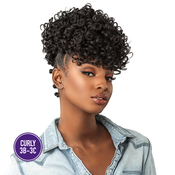 Sensationnel Synthetic Hair Drawstring Ponytail Instant Pony Curls Kinks AMP; Co Show Stopper