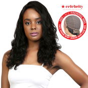 Celebrity 100 Virgin Remi Human Hair Lace Wig 360 Lace Frontal Wig Natural Wave 18
