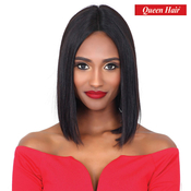 Queen Hair Unprocessed Brazilian Virgin Remy Human Hair Lace Front Wig Linda 12 M