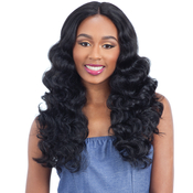 Milky Way Human Hair Blend Lace Front Wig Harmony 116