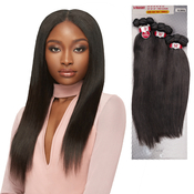 Outre NonProcessed Human Hair Weave 1 Pack Solution Bundle Babe Straight
