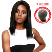 Celebrity 100 Virgin Remi Human Hair Hand Made Full Lace Wig Straight 16