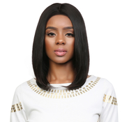 UpScale 100 Virgin Remi Human Hair Lace Wig 360 Lace Frontal Straight 16