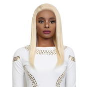 UpScale 100 Virgin Remi Human Hair Lace Wig 360 Lace Frontal Straight 16 613