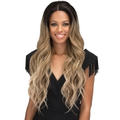 Bobbi Boss Synthetic Hair Lace Front Wig MLF300 Swiss Lace 2 Deep Hand Made Wide Lace Eris