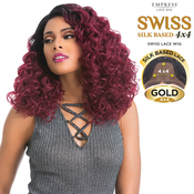 Sensationnel Synthetic Lace Front Wig Empress Edge 4X4 Swiss Silk Based Carol