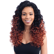 Milky Way Human Hair Blend Lace Front Wig Harmony 112