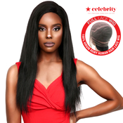 Celebrity 100 Virgin Remi Human Hair Hand Made Full Lace Wig Straight 24