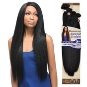 OUTRE Synthetic Hair Weave Batik Duo Dominican Blow Out Straight 5PCS