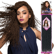 Bobbi Boss Synthetic Hair Crochet Braids African Roots Braid Collection Micro Locs 18 Sister Locs