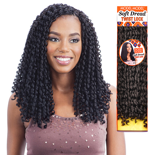 ModelModel Synthetic Hair Braids Glance Soft Dread Lock