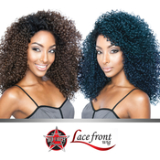 ISIS Red Carpet Synthetic Hair Lace Front Wig Berry Curly RCP763 3BJordan Curl