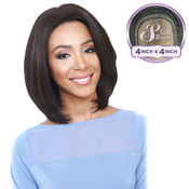 Bobbi Boss Synthetic Lace Front Wig MLF130 4X4 Silk Base Mars