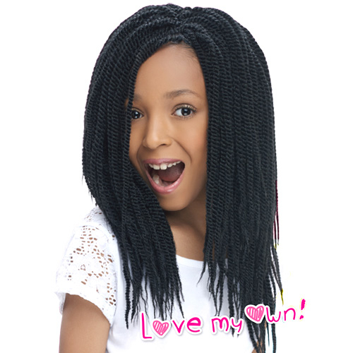 Crochet Braids Little Girl : Twist Braids For Girls Harlem125 Synthetic Hair Crochet X3cb