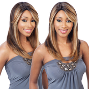 FreeTress Equal Synthetic Lace Front Wig Brazilian Natural Collection Deep Invisible Part Lace Nelly