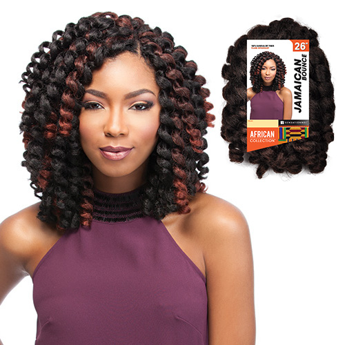 Crochet Braids Jamaican Bounce : ... Synthetic Hair Crochet Braids African Collection Jamaican Bounce 26