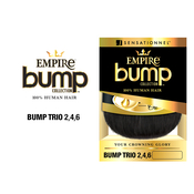 Sensationnel Human Hair Weave Empire Bump Collection Bump Trio 246