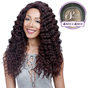Bobbi Boss Synthetic Lace Front Wig MLF170 4X4 Silk Base Saturn