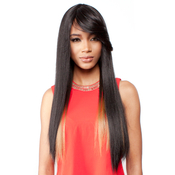 RAMP;B Collection 21Tress Human Hair Blend Half Wig BHKima
