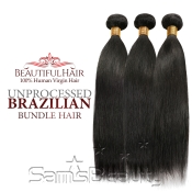 Beautiful Hair 100 Virgin Remy Human Hair Unprocessed Brazilian Bundle Hair Weave Natural Straight 3 Bundles