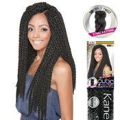 ISIS Synthetic Hair Crochet Braids A FriNaptural Cubic Twist 18