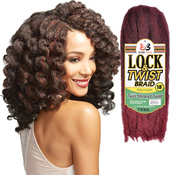 Bobbi Boss Synthetic Kanekalon Hair Braids African Roots Braid Collection Lock AMP; Twist 18
