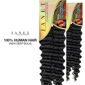 Janet Collection Human Hair Braid New Deep Bulk