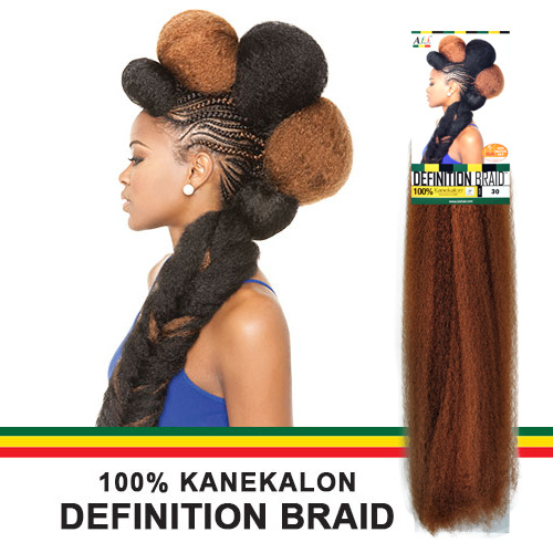 ... 100% Kanekalon Braid A Fri-Naptural Definition Braid - SamsBeauty