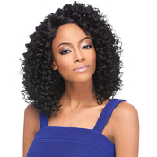 Outre Synthetic Lace Front Wig L Part Donna