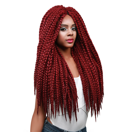 Crochet Jumbo Braids : Vanessa Synthetic Hair Crochet Braids Havana 3S Jumbo Box Braid 24