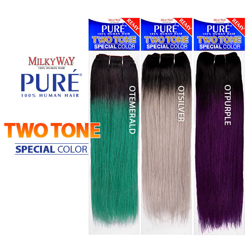 Milkyway remy human hair weave pure yaky ombre two tone samsbeauty pmusecretfo Choice Image
