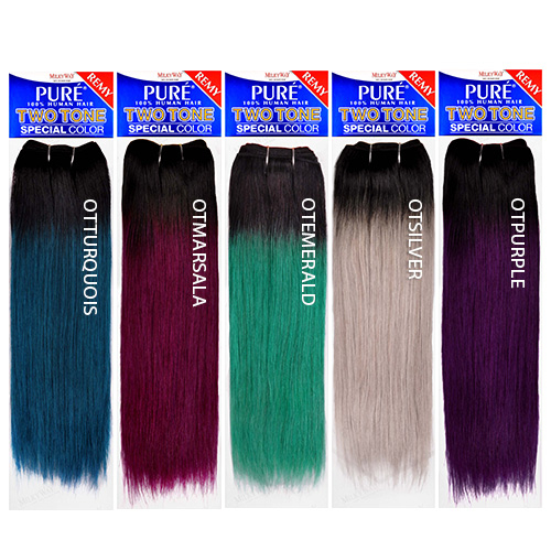 Milkyway remy human hair weave pure yaky ombre two tone samsbeauty pmusecretfo Gallery