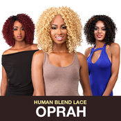 The Wig Brazilian Human Hair Blend Invisible Deep Part Lace Front Wig LHOprah