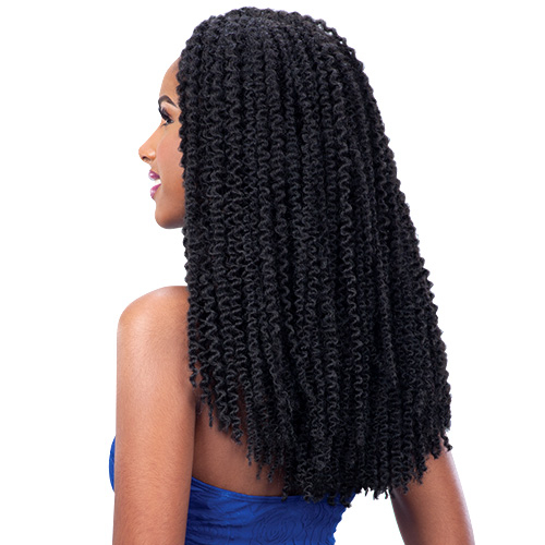 FreeTress Synthetic Hair Braids 3X Pre-loop Crochet Braid Island Twist ...