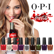 OPI CocaCola Nail Lacquer Collection